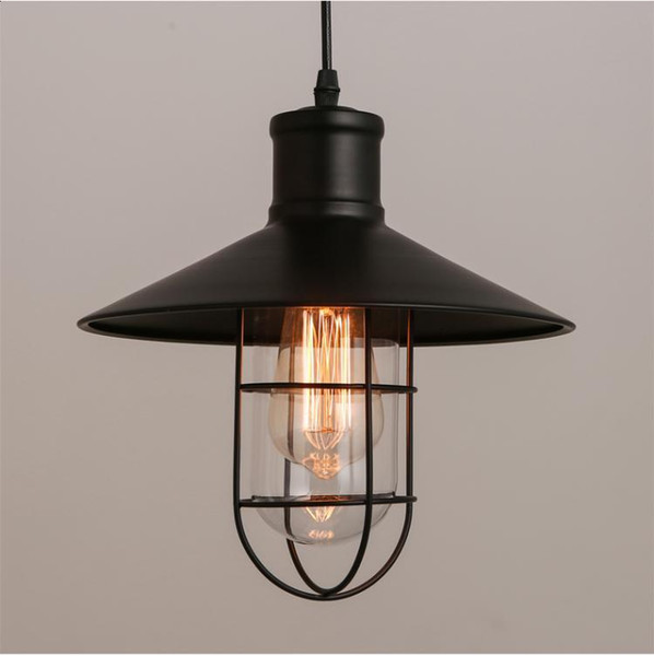 Rustic Pendant Lights Vintage Style Pendant Lamps Rounded Metal Lamp Shade Kichler Pendant Lighting Linear Suspension Lighting Llfa Ceiling Lamp