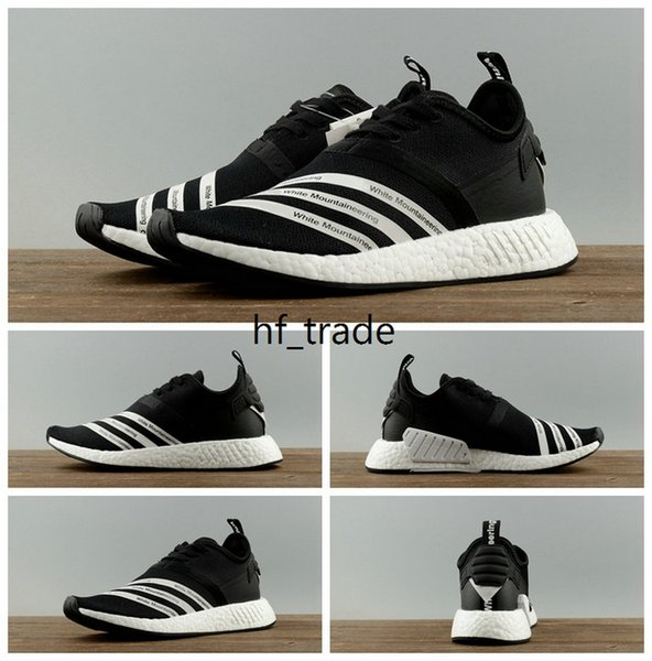 new style 3955b 93baa Buy NMD R2 White Mountaineering Black Mens Womens Runner Shoes,Titolo  Consortium NMD R1 Trail Celestial BB2978 BY3055 NMDs Sales With Box Tennis  Shoes ...