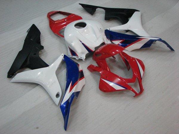 Body Kits CBR 600 RR 08 Full Body Kits for Honda CBR600RR 07 White Red Black Plastic Fairings CBR600 RR 2007 2007 - 2008
