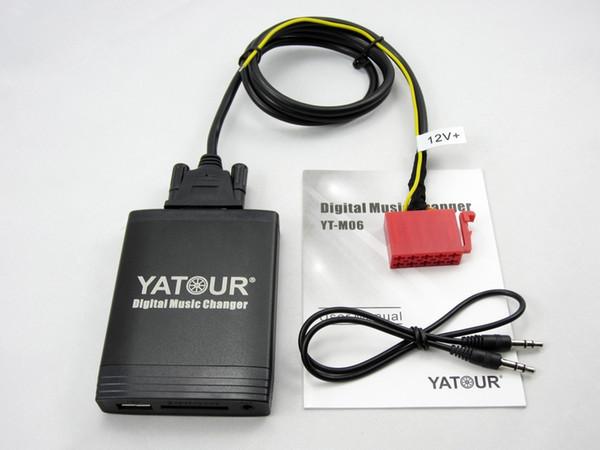 Yatour Auto Digital CD Musikwechsler USB MP3 AUX adapter Für VW Gamma 4 Kopfeinheit 10-Pin yt-m06 Bluetooth Schnittstelle