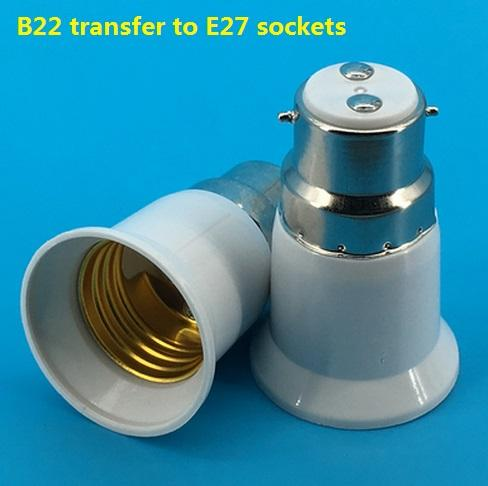 B22 to E27