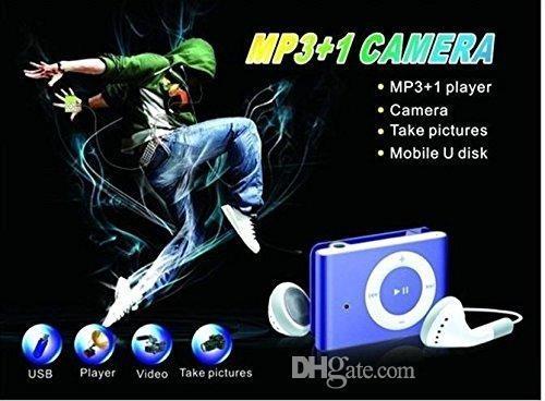MP3-плеер камеры с клип мини видеокамеры камеры мини видео аудио рекордер Mini DV DVR синий/черный 30 шт.