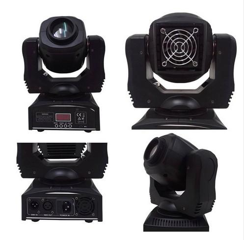 best selling New stage led spot 60w gobos moving head light dmx 9 11 channels light fast shipping