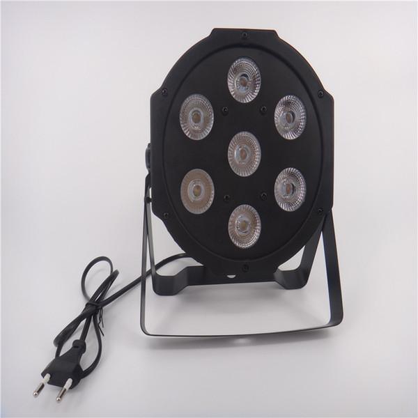 American DJ Wohnung SlimPar Quad 7 RGBW Farbmischung LED 7x12 Watt DMX Licht Uplighting Schnelles Verschiffen