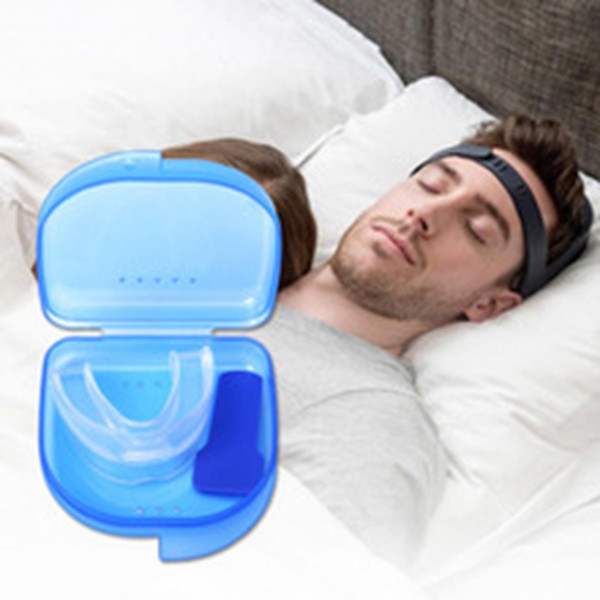 Hot Anti Snore Mouth Guard Reduce Bruxism Tray Sleeping Aid Mouth Guard Tooth Orthodontic Appliance Stop Snoring Mouth Guard