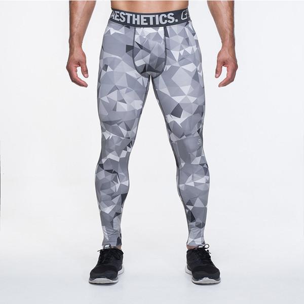 2017 Yeni Giyim Vücut Geliştirme Fitness Joggers Gasp Egzersiz Elastik Sweatpants Adam Pantolon Rahat Sıska Pantolon Alt Tayt