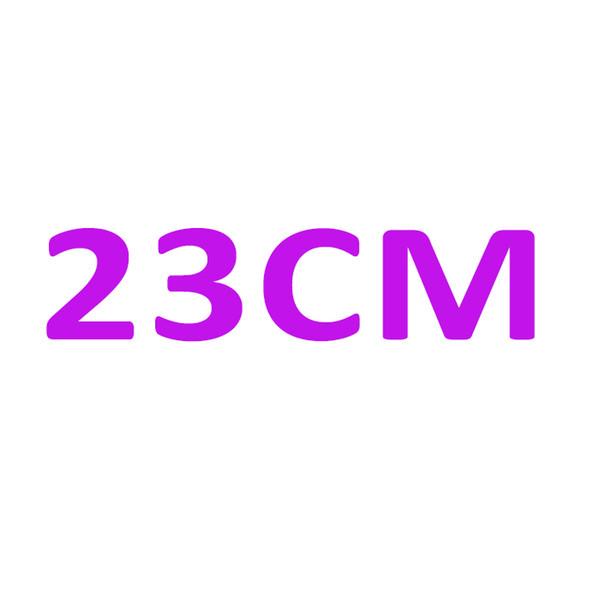 브랜드 홀 마크가있는 단일 23CM