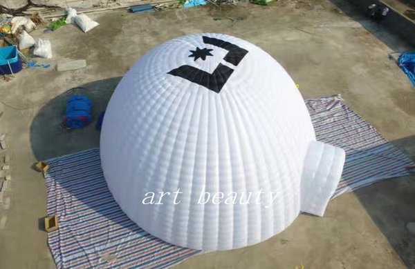 2017 new white high quality dome inflatable dome tent for party event tent