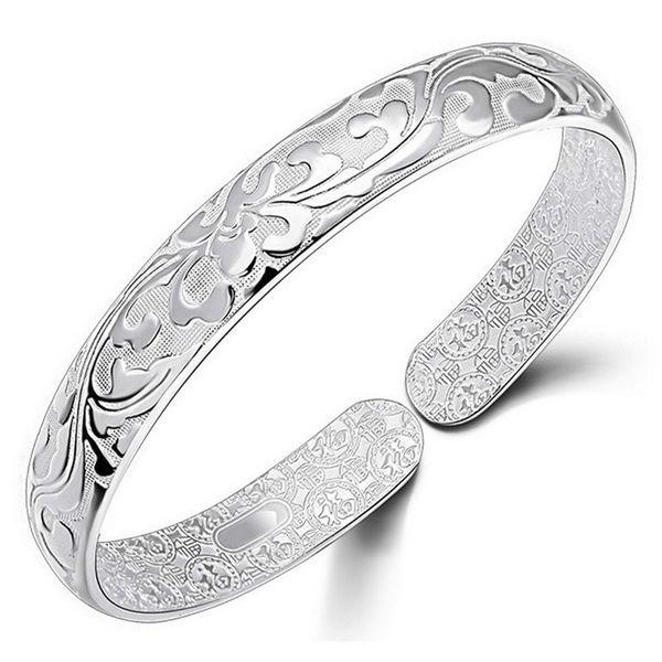 Bangle Bracelet Chinese Style Women Bangles Chinese Word Flower Bradelets Bohemian Jewelry High Quality Free Shipping
