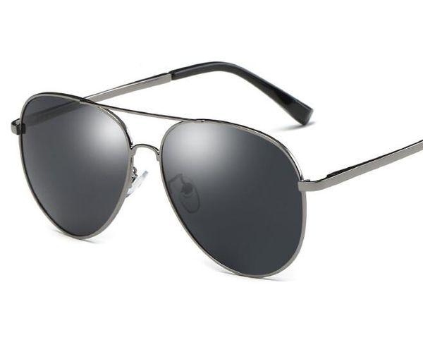 Erkekler ve Kadınlar için yüksek Kaliteli Metal polarizasyon güneş gözlüğü Moda Aksesuarları moda Kurbağa ayna güneş gözlüğü Sürüş gözlük