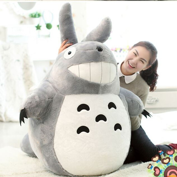 Hot Sale Sitting Size 45cm Famous Cartoon Totoro Plush Toys Soft Stuffed Toys Brinquedos Dolls High Quality Dolls Factory Price