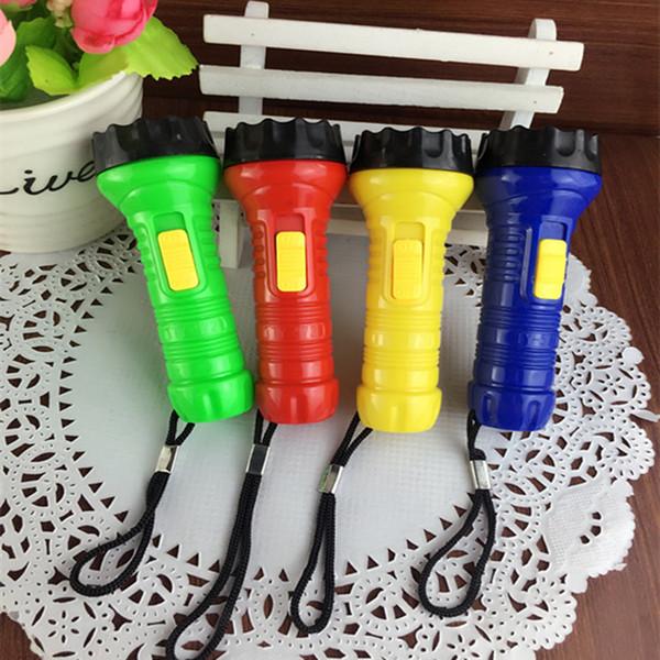 LED plastic key chain, flashlight, small flashlight, LED small gift lamp, key buckle, small flashlight