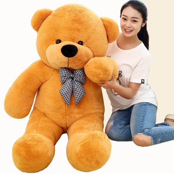 Discount wholesale high quality low price stuffed animals bear plush wholesale high quality low price stuffed animals bear plush toys large 10080cm teddy publicscrutiny Choice Image