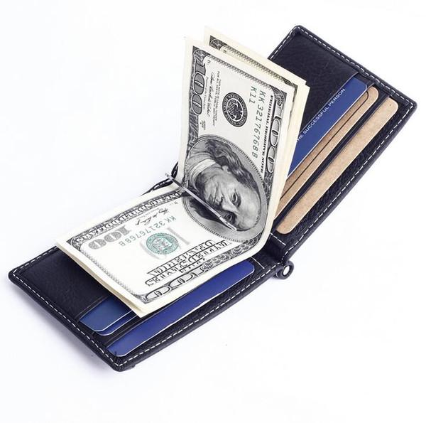 GUBINTU Gold brand Men Leather wallet Ultrathin Luxury Credit Card ID Card Holder Slim Purse Clutches Mens Wallet 2017 Hot Sale