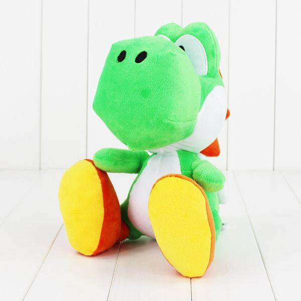 12 polegadas (30 CM) Yoshi Boneca de Brinquedo de Pelúcia Super mario yoshi brinquedo de pelúcia Presente de Natal Frete Grátis