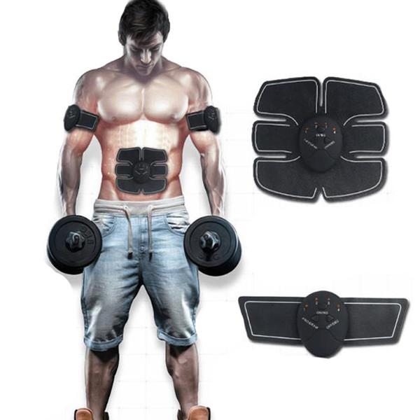 Estimulador de músculo sem fio Estimulador de EMS Body Slimming Máquina de beleza Exercício de musculatura abdominal Dispositivo de treinamento Body Massager X063-1
