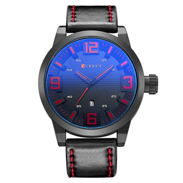 CURREN 8241 Männer Top-marke Luxus Militäruhren Sportuhr Quarz Männliche Armbanduhren Relogio Masculino Montre Homme