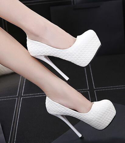 New Arrival Hot Sale Specials Sweet Girl Good Quality Noble Elegant Ultra Patent Sexy Stilettos Platform Club Party Heels Shoes EU34-39