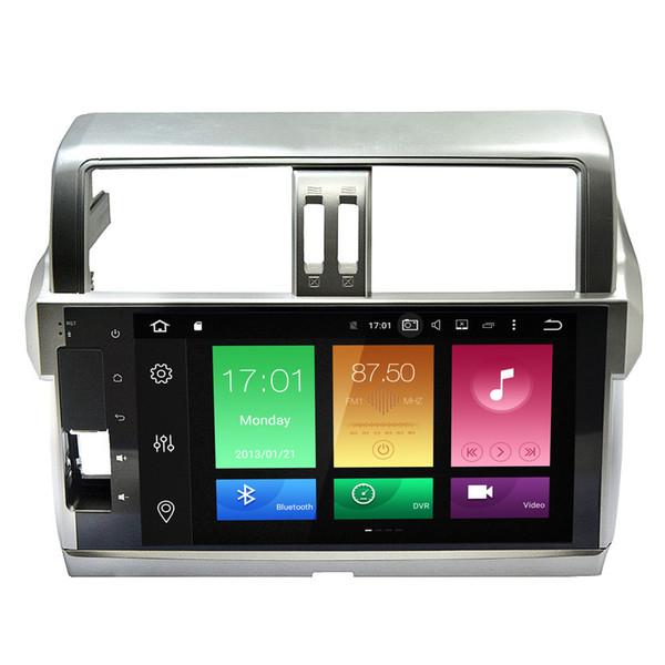 "10.1"" Android 6.0.1 System Car DVD Radio For Toyota Prado 2014+ GPS Navi Receiver Octa-Core OBD DVR Steering Wheel Control Mirror Screen"