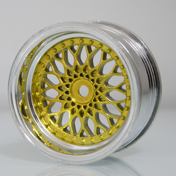 RC HSP 2082 Plating Plating Wheel Rim 4P For 1:10 Offset:6mm On-Road Drift Car