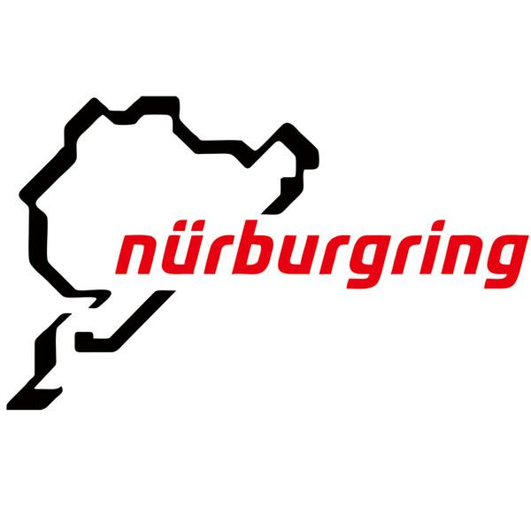 Großhandel Heißer Verkauf Grüner Nürburgring Körper Auto Styling Vinyl Aufkleber Aufkleber Drop Shipping Kreative Auto Styingcar Zubehör Jdm Von