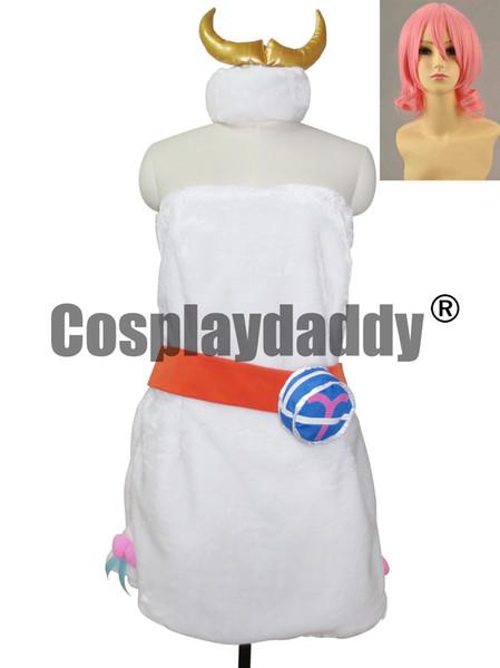 Fairy Tail Aries Halloween Girls Dress Set Cosplay Costume