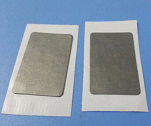 Atacado-100pcs / lot NFC s50 anti-metal tag tag de pagamento móvel Mobile IC tag anti-metal rótulo nfc rfid