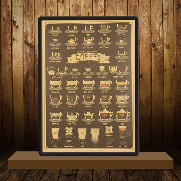 Tazza da caffè Daquan Bars Poster da cucina Poster Adornment ...