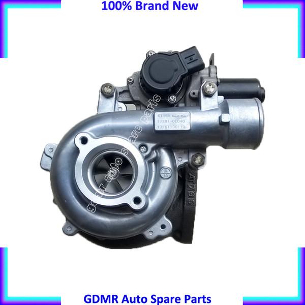 CT16V 17201 30100 17201 30101 17201 30110 17201 0L040 1KD FTV Turbo With  Solenoid Valve For Toyota Hilux Landcruiser D4D VIGO 3000 3 0L Turbocharged