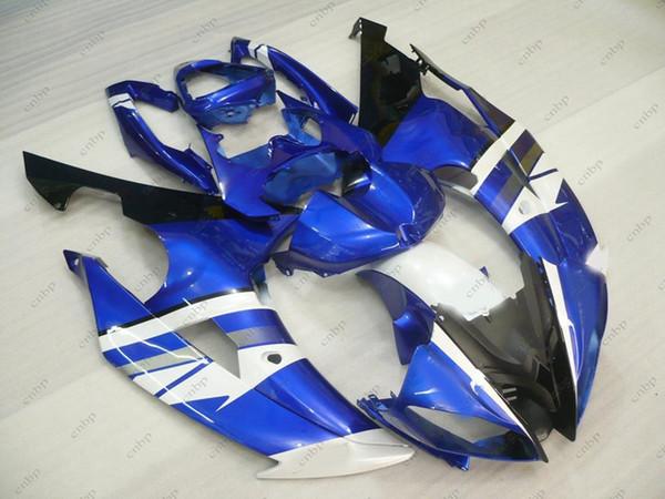 Обтекатель комплекты YZF600 R6 14 15 пластиковые обтекатели yzfr6 2011 синий белый черный кузов YZF R6 08 09 2008 - 2015