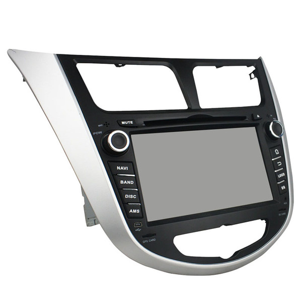 High quality 7inch HD screen Android5.1 Car DVD player for Hyundai Accent with GPS,Steering Wheel Control,Bluetooth, Radio