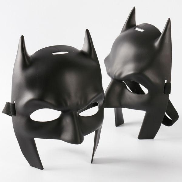Batman v Superman Mask High Quality Batman Mask Mardi Gras Party Mask Costume Decoration Costume Masquerade Theme (Black)Child Size