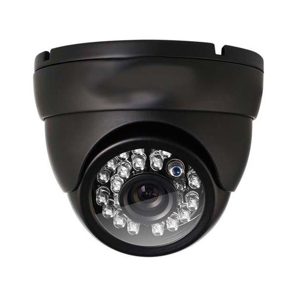 Analog dome camera HD 1000TVL Surveillance Security Camera Day Night Vision 24 IR Leds indoor Wide Angle 3.6mm Lens Metal Video CCTV Camera