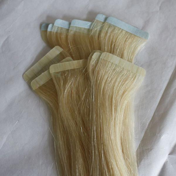 Colori capelli umani brasiliani VERGINI REMY 2.5 g / pezzo 40 pz / lotto nastro prezzo nastro capelli economici in estensioni dei capelli