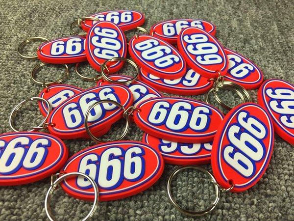 Sup Acessórios 666 chave do carro dos homens chave pingente de chaves 17ss