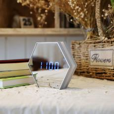 2017LED creative department multifunctional digital clock Nightlight mirror mirror clock night lamp wholesale stalls