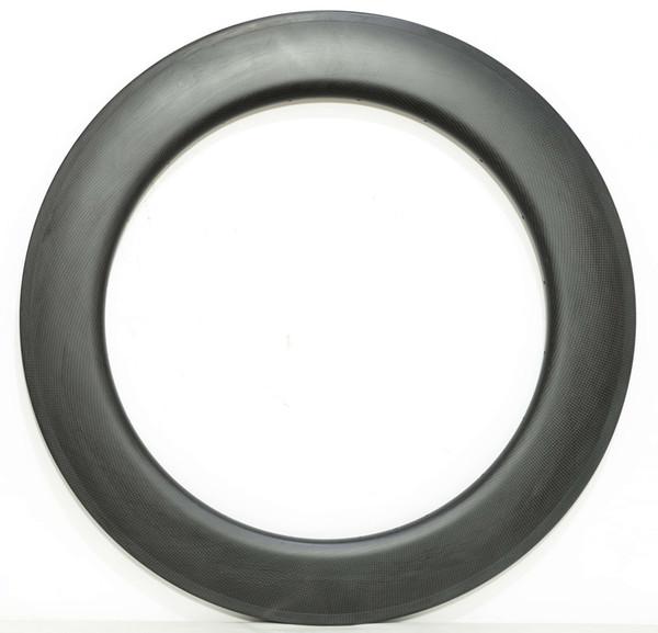 700C Carbon wheels 88mm Depth 25mm Width Carbon single Rim Clincher/tubular Road Bike Rim 3k matte finish