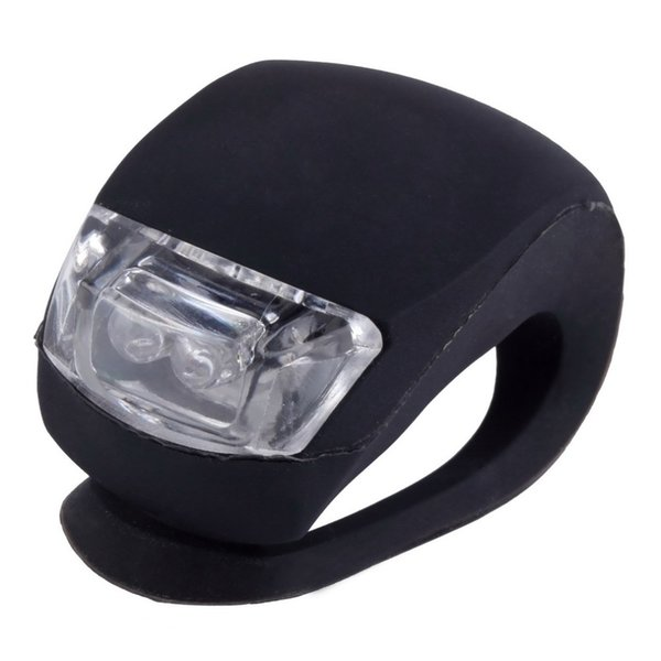 best selling 1 pc Wholesale Silicone Bike Light Bicycle Cycling Head Front Rear Wheel LED Flash Light Lamp
