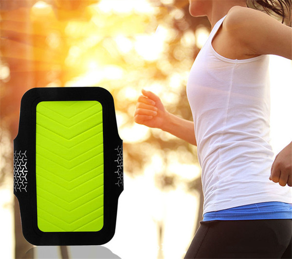 DHL Free Shipping High Quality Bag Waterproof Sports Running Case Armband Workout Holder Pouch Cell Mobile Phone Arm Bag Band For iphone 6