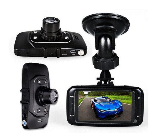 "100pcs GS8000l Car Camera DVR 2.7"" Auto Video Registrator Camcorder 1080P Car DVR Driving Recorder Carro Coche Dash Cam Dashboard"