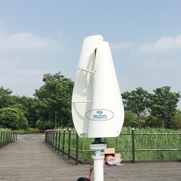 Nouvelle arrivée turbine éolienne verticale 400w 12v24v avec générateur meglev et contrôleur MPPT automatique 12v 24v