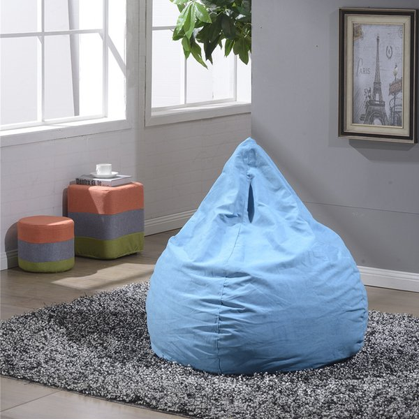 Tremendous 2019 Single Person Chair Drop Shape Bean Bag Sofa Chairs Couch Lazy Dog Upholstered Armchair No Skeleton Soft Multi Colors Washable 70Wh A From Machost Co Dining Chair Design Ideas Machostcouk