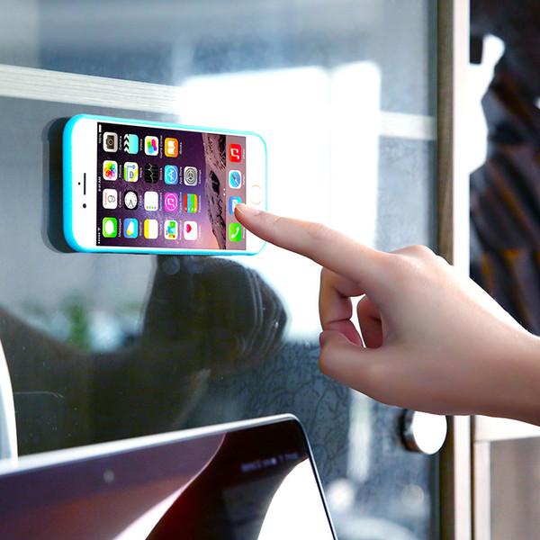 For iphone x 8 7 Anti-gravity Phone Case For Samsung Galaxy S8 S7 edge iPhone 7 plus 6 Magic Sticks Anti gravity
