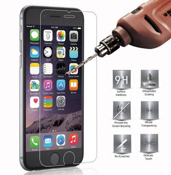 For Iphone 7 tempered glass screen protector For iphone 7 plus 6S Plus 5S 4S 9H Anti Scratch Temper Glass For Google Pixel XL Nexus 5 6 Film