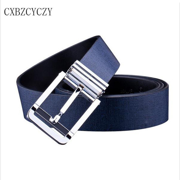 Wholesale- 2017 New Fashion brand designer belts men high quality mens belt luxury Jeans pants belts for women leather belts ceinture
