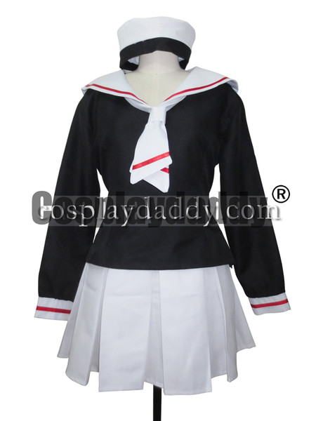 Card Captor Sakura school Uniform cosplay costume Handmade Outfit