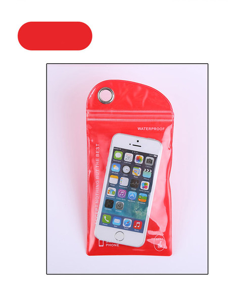 PVC plastic bag mobile phone waterproof bag pudding membrane self-styled ordering 10 x 20 following from bag