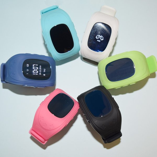 Q50 GPS AGPS LBS SOS Kids whatch Children Anti-Lost SmartWatch Tracker Locator Smart Band Watch for Android and IOS