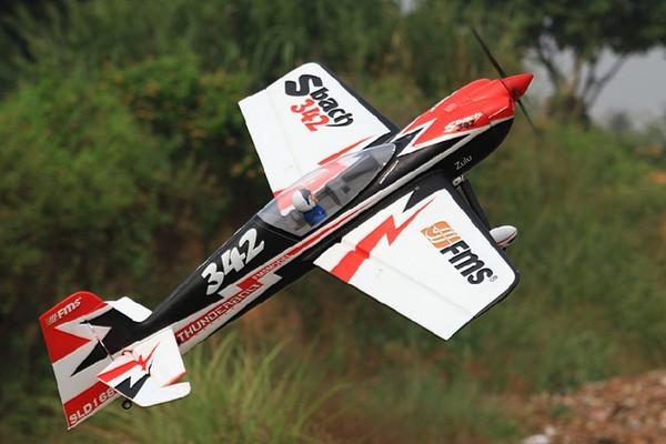 Wholesale- FMS 1300MM / 1.3M Sbach 342 PNP Durable EPO Aerobatic 3D Big Scale Radio Control RC Model Plane aircraft 100% Original FMS