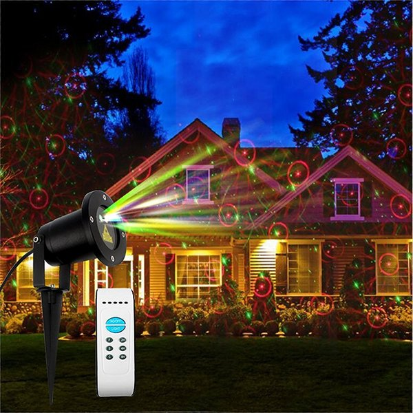 Led Christmas Lights On House.Wholesale Ip65 Waterproof Led Christmas Lights Laser Star Projector Lamp For Holiday Garden Lawn House Decorations Lighting Smart Smart Illumination